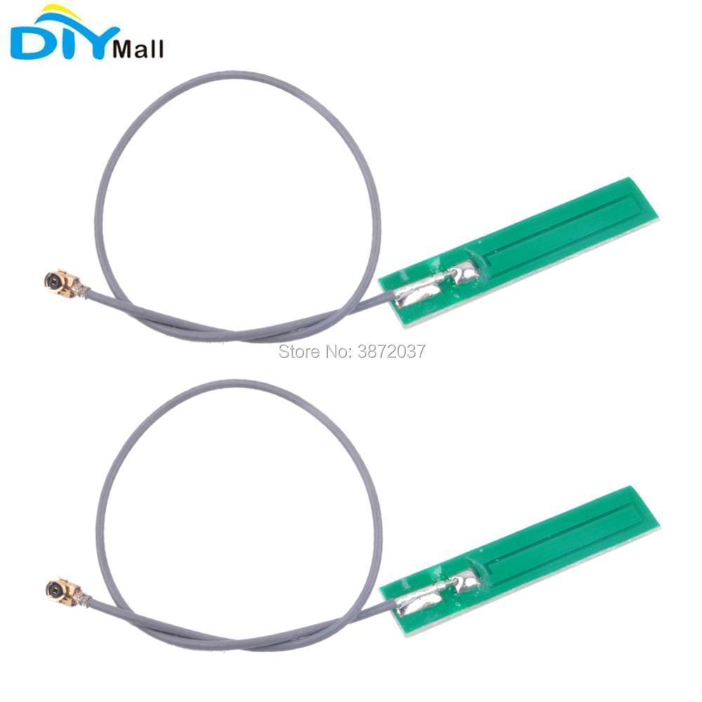2 unids/lote GPRS GSM 2G 3G IPEX Antena de PCB IPX13 50ohm 3dBi 880-960 MHz 1710-1800 MHz