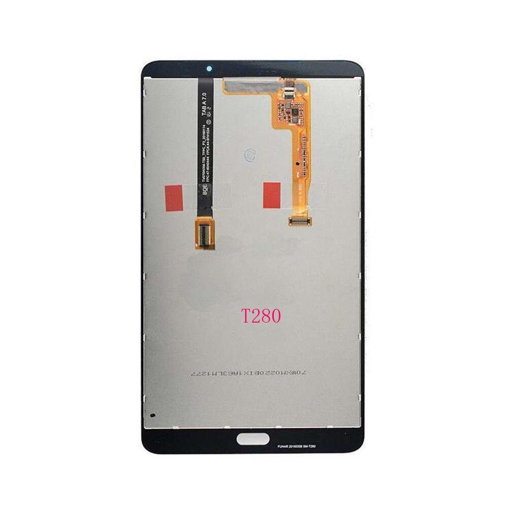 """Для Samsung Tab A 7 """"T285 T280 ЖК-дисплей кодирующий преобразователь сенсорного экрана в сборе черный или белый цвета"""