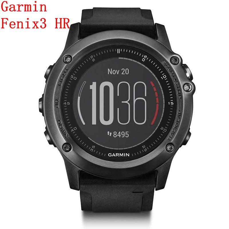Garmin Fenix 3/5 Gray Fly-3 hr sapphire mirror men's photoelectric heart rate multifunctional outdoor sports watch riding smart