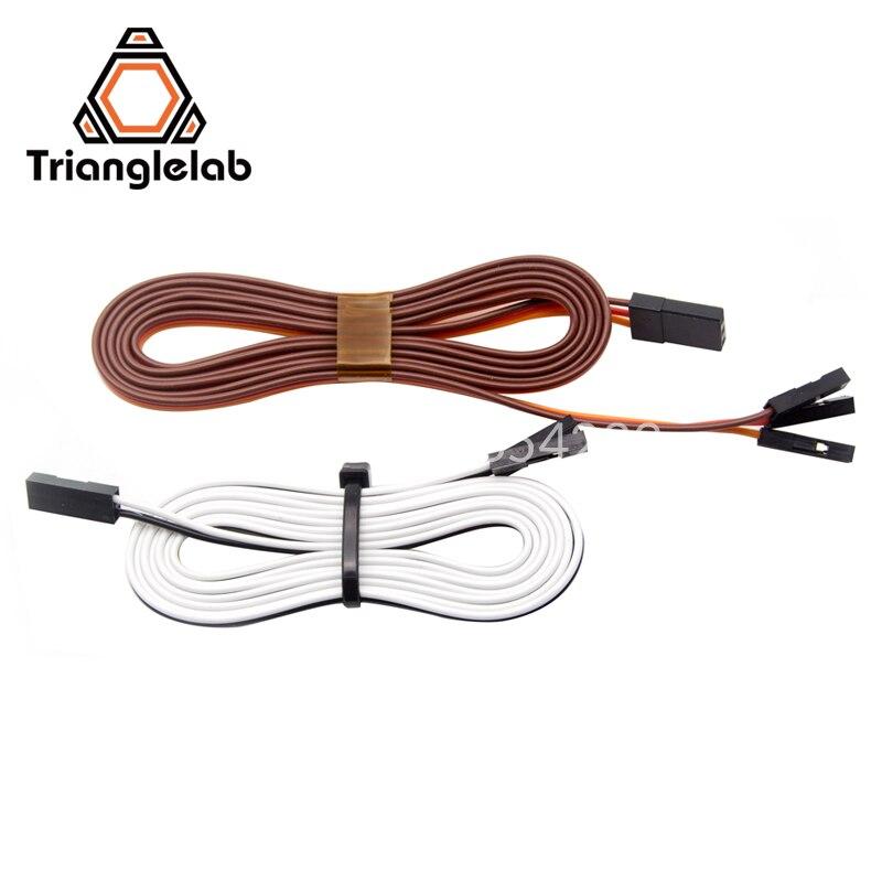 Trianglelab Новый 3D принтер TOUCH 1 шт. 80 см удлинительные шнуры TL-touch датчик для автоматического выравнивания кровати удлинительные шнуры
