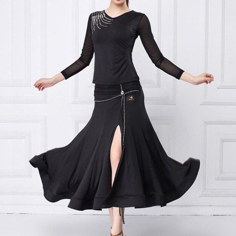 Falda de baile superior para Mujer Faldas de baile español faldas de baile español trajes de baile ropa de práctica de baile de salón