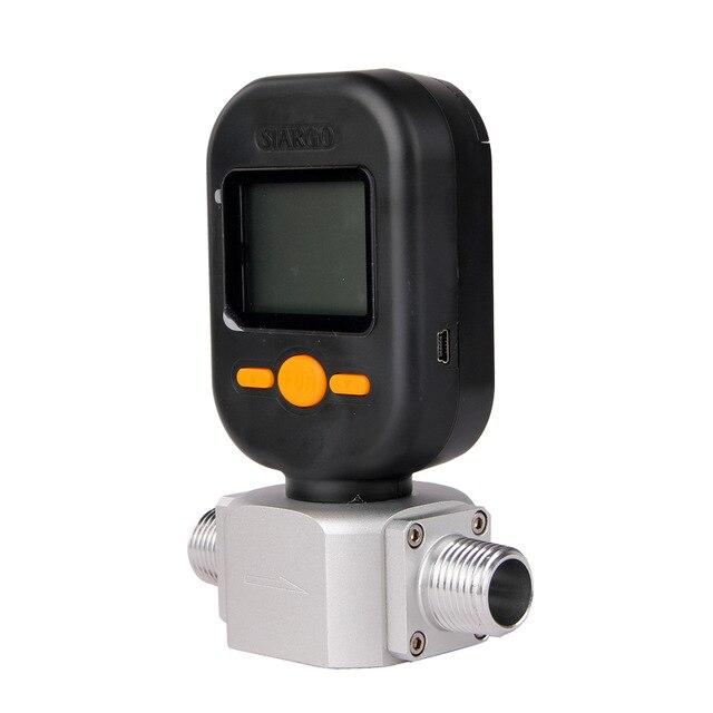 Mf5712 200l/min digital gás nitrogênio oxigênio medidor de fluxo maciço medidor de fluxo