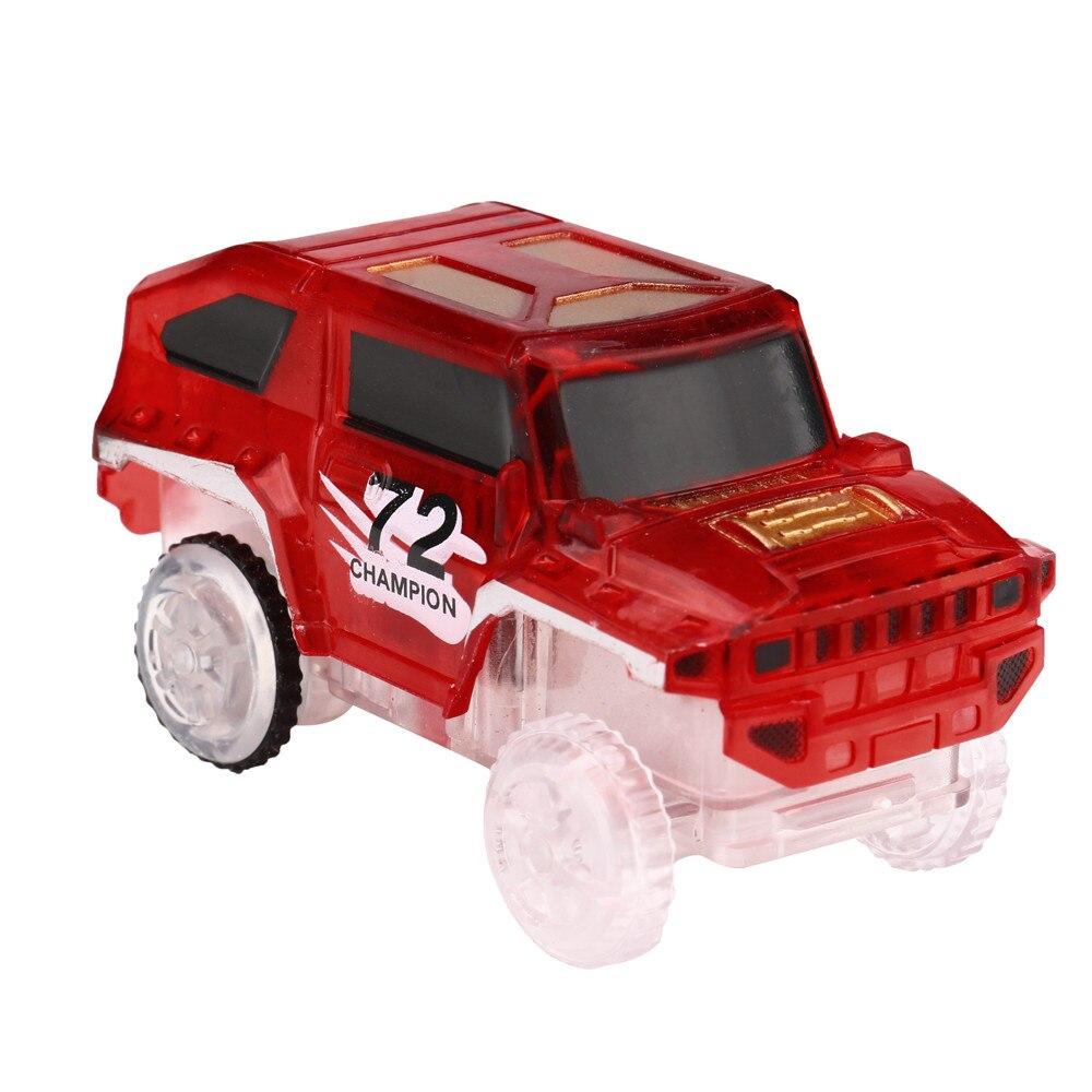 Светодиодный светильник для светящихся гоночных треков, электронный игрушечный автомобиль, мигающий световой магический трек, игрушки с мигающим светильник s, развивающие