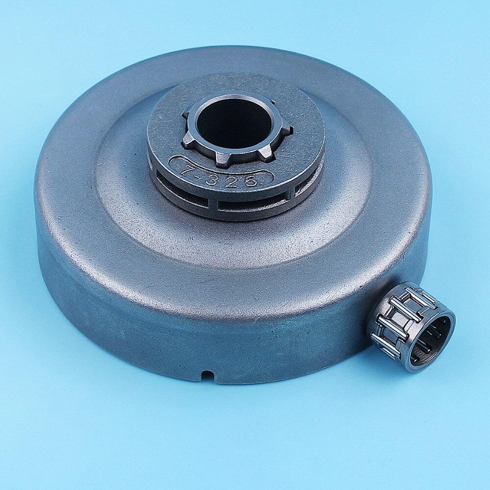 Embrague de tambor, 325x7 diente Rim Sprocket Kit de rodamiento de agujas para Stihl 024 026 MS260 MS240 MS261 motosierra de espaã a