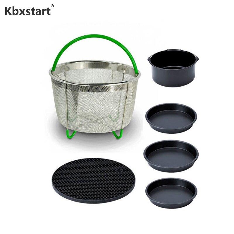 Kbxstart-accesorios para freidora de aire 6 unid/set, freidora sin ace, adecuado para...