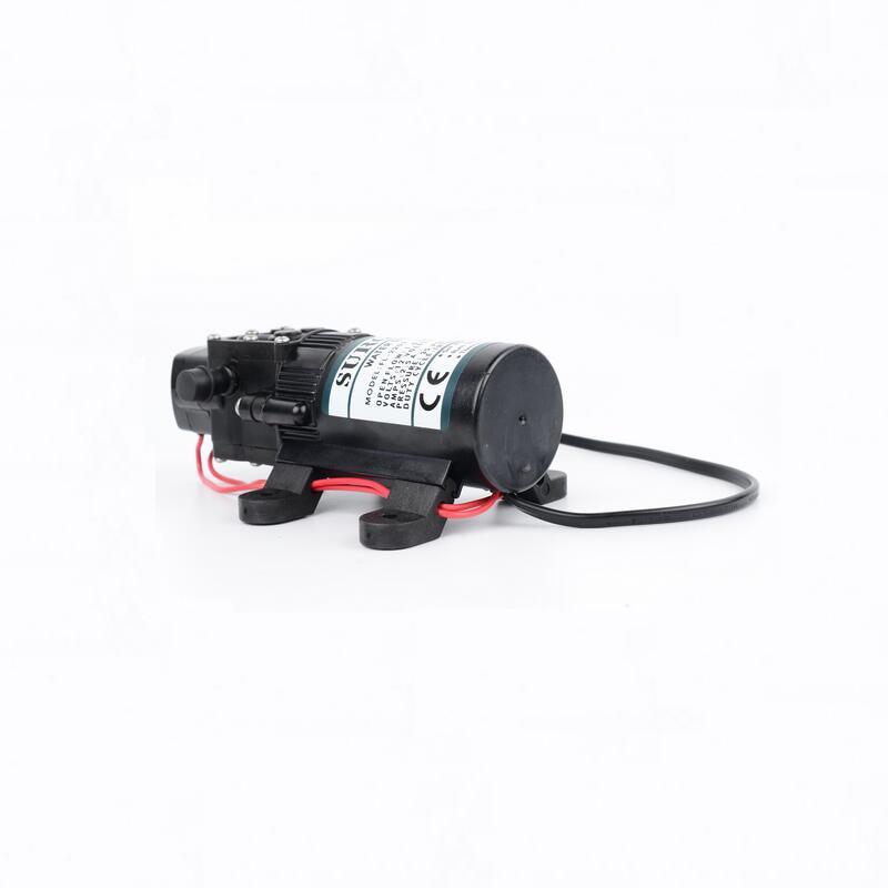 FL2203 DC 12V 24V Electric Spray Diaphragm Pump High Pressure Solar Water Pump Micro Self-priming Motor Booster Small Water Pump