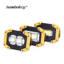 Lampe de poche Mobile batterie externe Port USB tente de Camping lumière extérieure Portable lampe suspendue lanterne Camping lumière lumière de secours wor