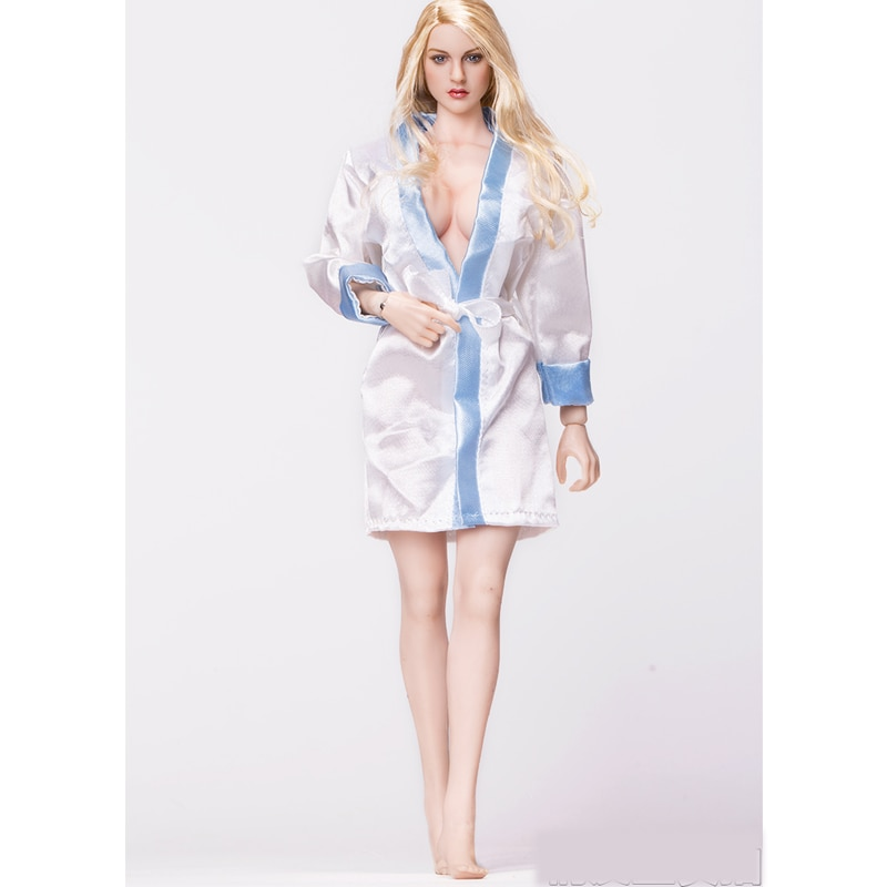 "1/6 báscula accesorios de ropa de mujer Pijamas camisón modelo apto 12 ""muñeca PHicen JIAOUL HOTTOY figura de acción Juguetes"