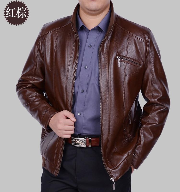 Die Neue Frühjahr 2019 Schafe Haut Mann Leder Mantel High-grade Leder Bomber Jacken Für Männer männer Mode leder Mantel M-xxxl