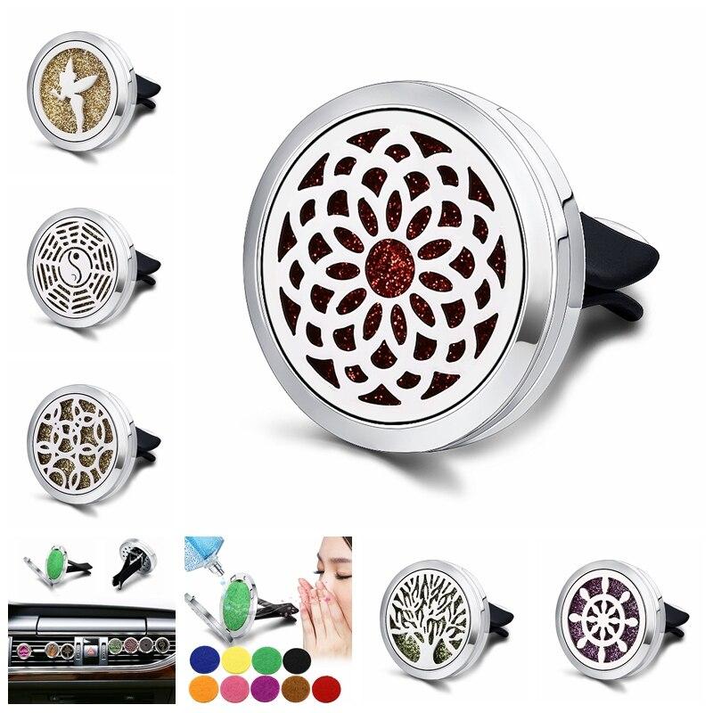 Ambientador de coche difusor de Perfume para el coche Clip ambientador de ventilación de coche accesorios/adornos de coche C012