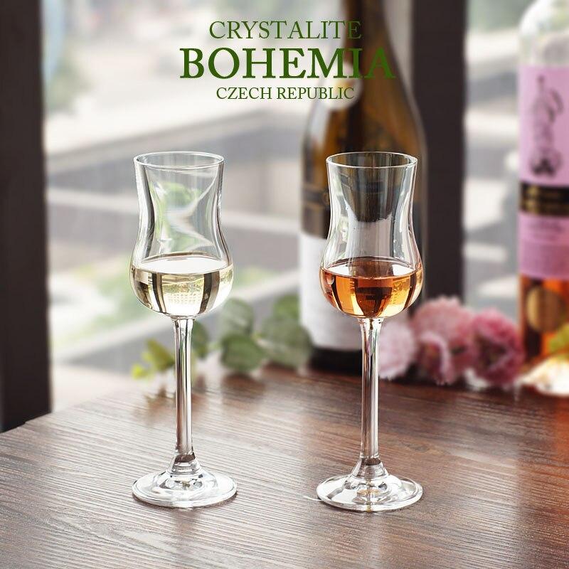 Copa De Cristal De la República Checa BOHEMIA, vaso De Cristal con...