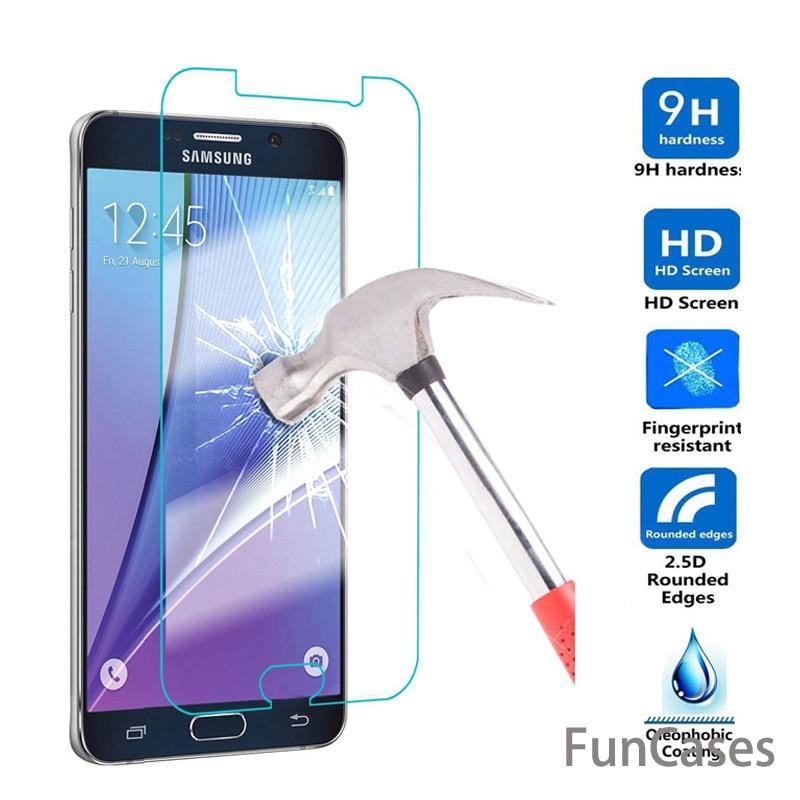 Para Samsung Galaxy J2 A8 2018 A3 A5 A7 2017 de vidrio templado J1 J2 J3 J5 J7 2016 S3 4 película protectora de pantalla Anti-rotura 5 6 NOTE3