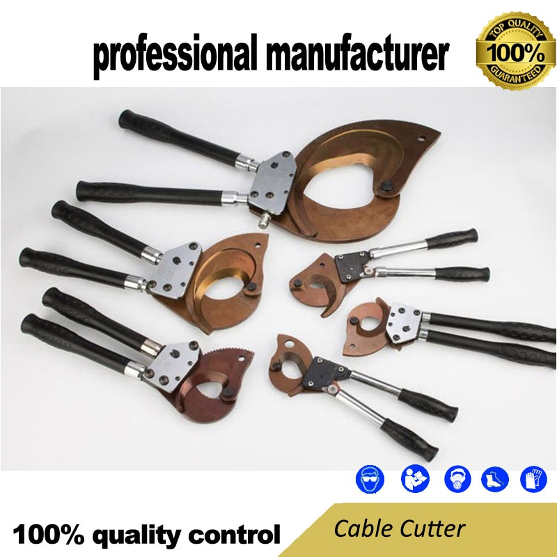 J130 hydraulic cable cutting scissors Ratchet cable cutter cutting pliers cable cutter wire and cable electrician repair tools