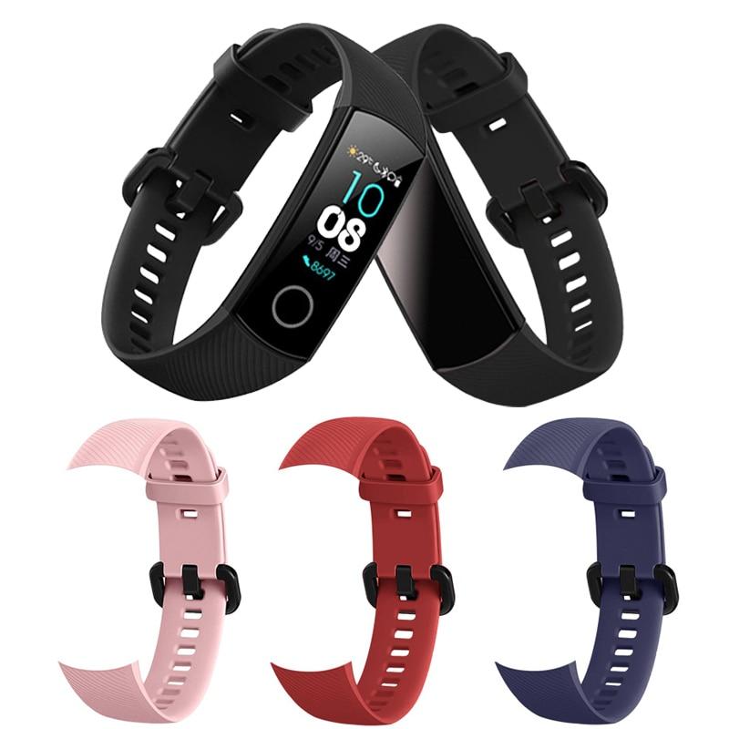 Bracelet en silicone pour Huawei Honor Band 4 bracelet Intelligent ремешок sport bracelet de montre bracelet pour Honor Band 4 Accessoire Intelligent film