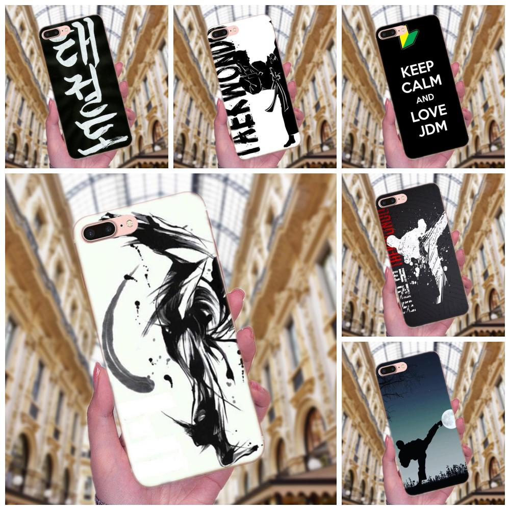 De diseño personalizado de Taekwondo exquisito para iPhone X de Apple XS Max XR 4 4S 5 5C 5S SE 6 6S 7 8 Plus