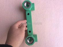 Ppr connecteur de raccord à Double coude   Livraison gratuite, 25mm à 1/2 pt, tuyau tubulaire, tuyau et raccord à Double coude