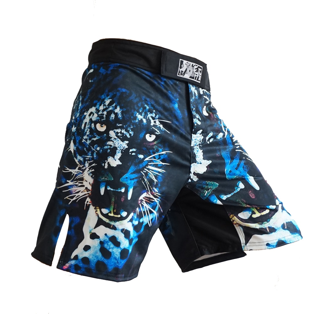 MMA shorts Fitness Sports Fight tiger muay Thai kickBoxing Pants  fight training short mma sanda