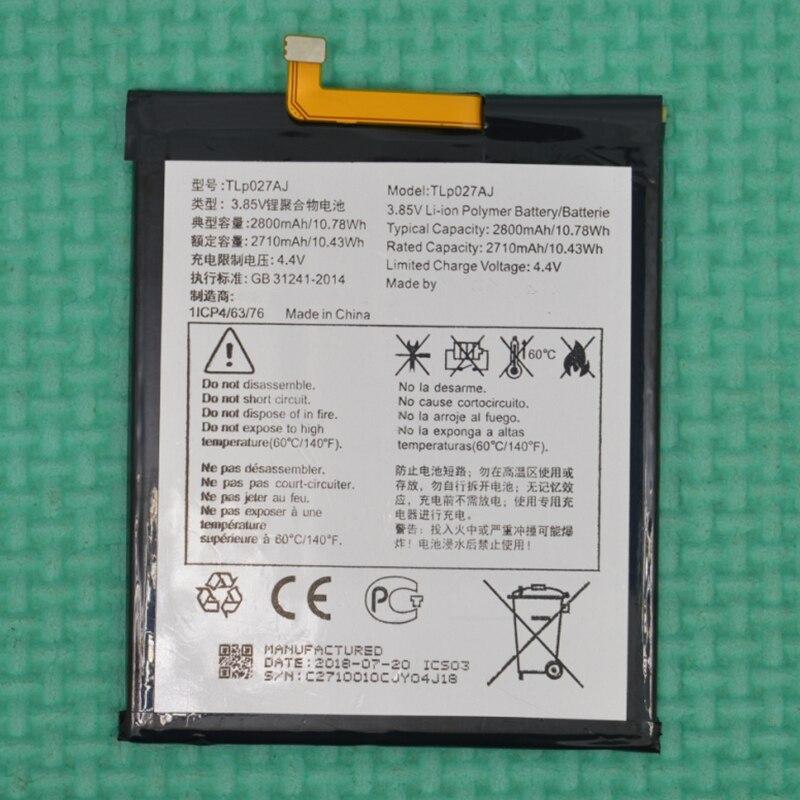 Rush Verkauf Begrenzte Lager Einzelhandel 2800 mah TLP027AJ Neue Ersatz Batterie Für TCL 750 CHUXIAN X1 PLUS Hohe Qualität