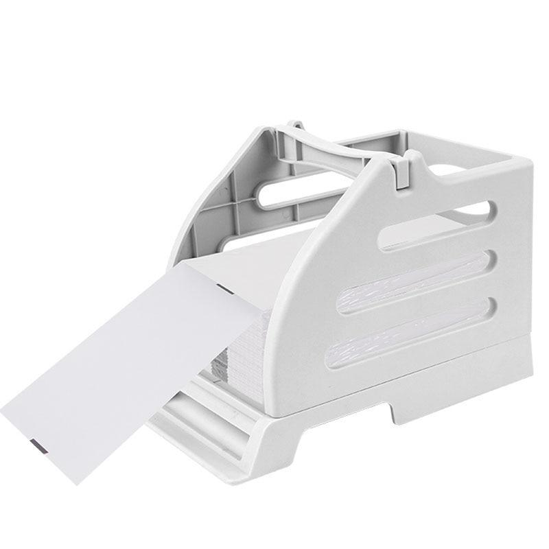 Impresora de etiquetas térmicas de mensajería electrónica única-impresora de caja externa universal-Soporte de caja combo