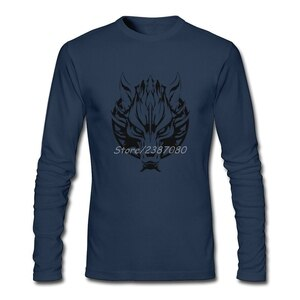 Oversized Retro Looking Clothes Berserkers Vikings Wolves Tshirt Men New Styles Round Neck Long Sleeve Bespoke Tee Shirts