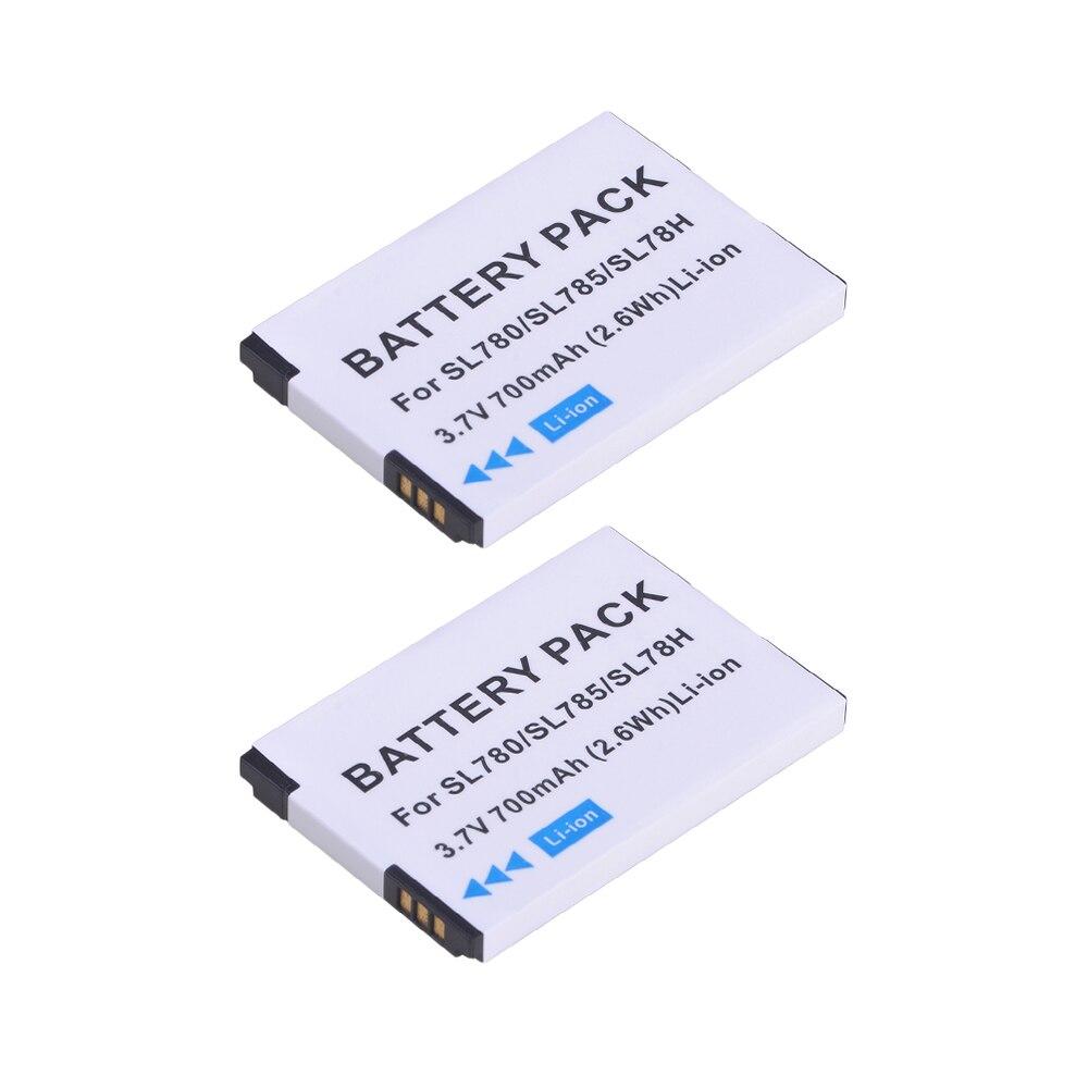 2 pièces 3.7 V Téléphone Sans Fil Batterie Li-ion pour Gigaset SL400, SL400H, SL610H Pro, SL780, SL785, SL788, X656,