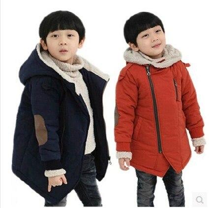 Abrigo de Cachemira grueso de invierno de moda para niños, abrigo informal a prueba de viento para bebés, niñas, chaquetas de niños para exterior de 3 a 11 años