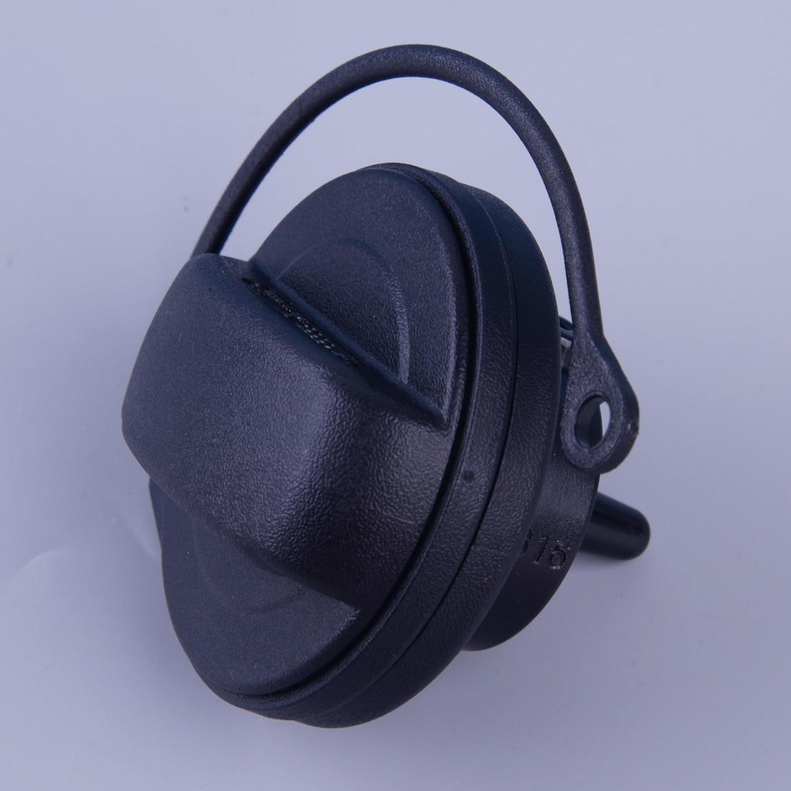 Beler de Gas de combustible de plástico negro tapa del tanque de accesorios aptos para VW Tiguan Passat EOS 3C0201550 2008, 2009, 2010, 2011