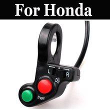 3 en 1 para motocicleta o bicicleta eléctrica/luz de Vespa señal de giro y interruptor de bocina para Honda Shadow Aero 750 Sabre Spirit 750 1100 Vlx Deluxe