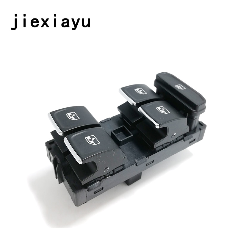 1 Uds. Botón de Control de ventana de controlador cromado para Golf 7 MK 7 Tiguan Passat Touran 5G0 959 857 C 5GG 959 857 A 5G0 959 857 E