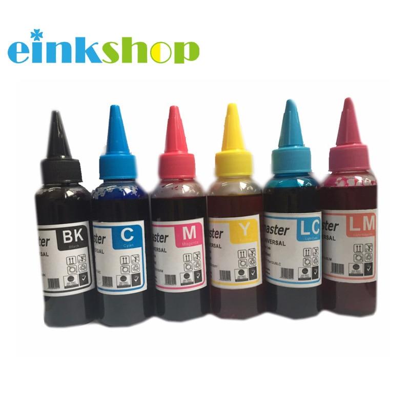 Einkshop Água 600 ML de Tinta Corante Para hp 363 177 02 11 82 84 85 para hp Photosmart C5180 C6170 c6175 C6180 C6183 C6185 C6188 impressora