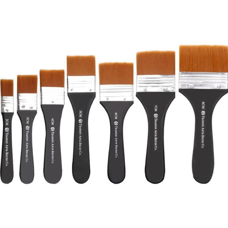 Нейлоновая шерстяная краска акварельная кисть для краски акриловая пигмент
