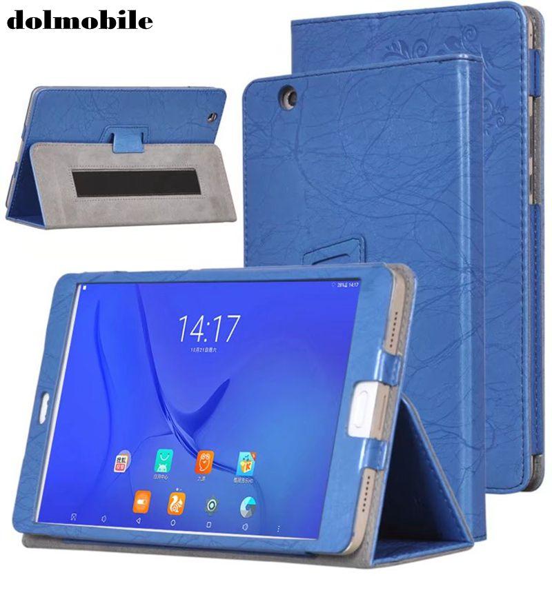 Чехол из искусственной кожи с цветочным принтом dolmobile для Teclast T8 8,4 дюйма планшета с держателем для рук + стилус