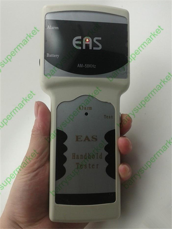 Akustyczny ręczny detektor magnetyczny EAS wykrywacz tagów antykradzieżowych 58KHz detektor alarmu częstotliwości