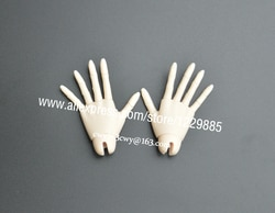 Hehebjd 1/3 boneca articulada mãos para 1/3 bonecas femininas frete grátis