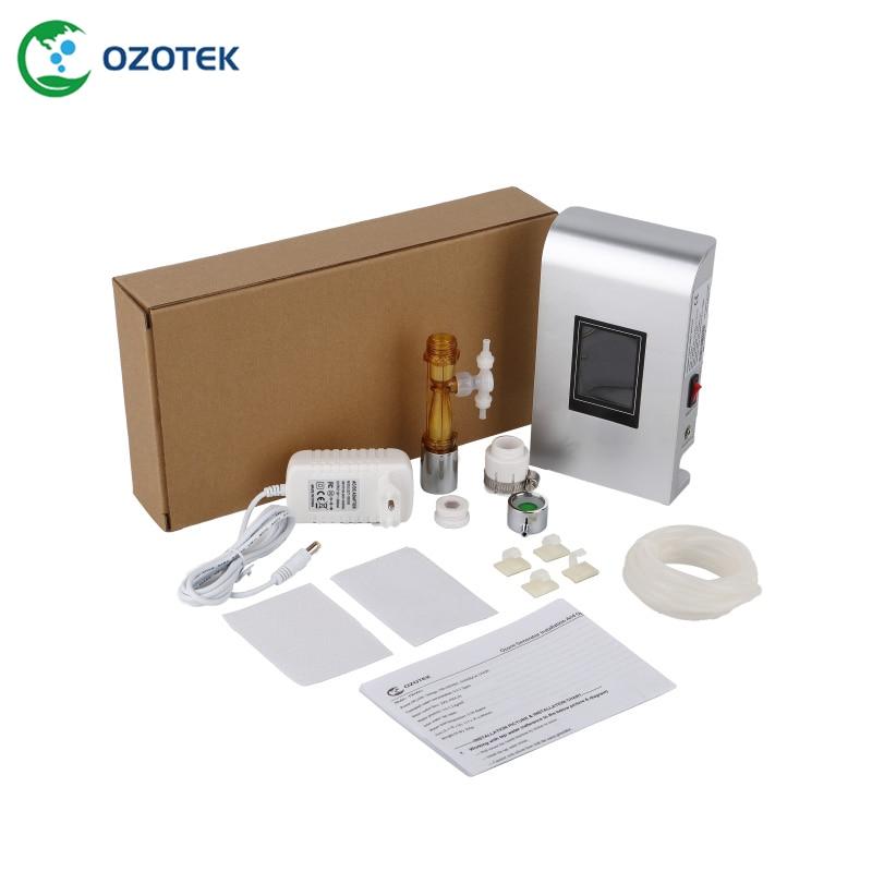 OZOTEK-صنبور الأوزون مع فلتر المياه ، صنبور الأوزون TWO002 مع Venturi 0.2-1.0 جزء في المليون للغسيل ، شحن مجاني