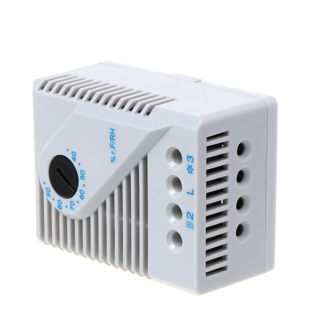 1 шт. механический гигростат контроллер влажности подключение вентилятора нагреватель для шкафа MFR012