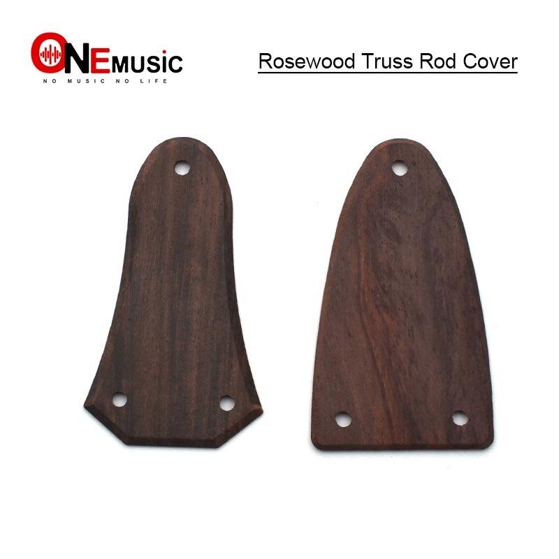 10 Uds. Bajo Eléctrico acústico guitarra campaniforme estilo palisandro bruss Rod Cover Plate