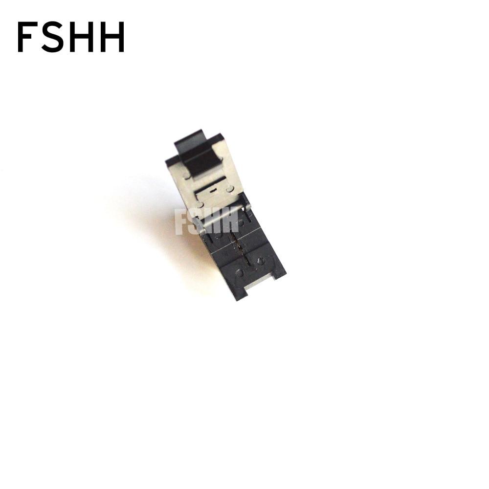 FSHH QFN2 test socket WSON2 UDFN2 MLF2 ic socket Size=2.5x1mmx0.5mm