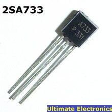 50pcs 2SA733 트랜지스터 PNP 50V / 0.1A / 0.25 와트 A733
