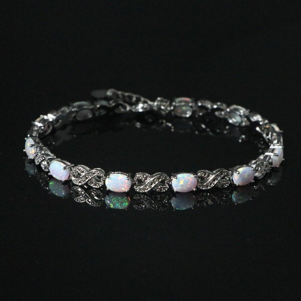 SZ0106  2018 New Hot Elegant White Opal Bracelet Women's Jewelry Gifts
