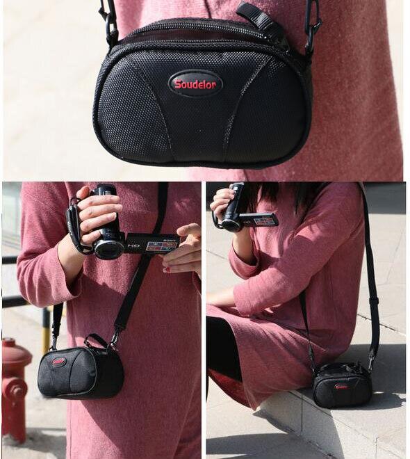 HD видеокамера DV сумка через плечо для JVC Sony Canon Fuji Panasonic