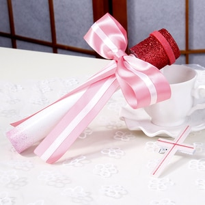 SAO Sword Art Online Yuuki Asuna Idol ver Singer Pink Stage cos Microphone cosplay Prop