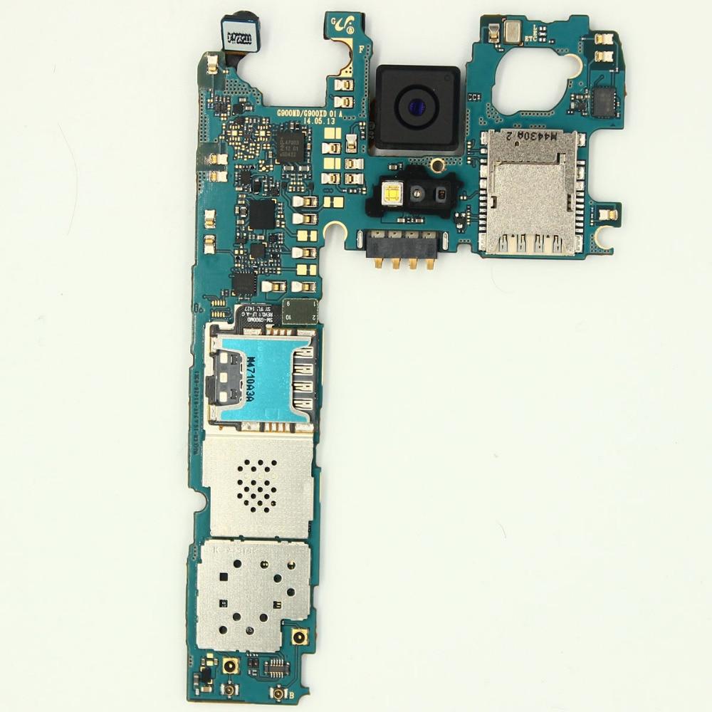 Main Motherboard Unlocked For Samsung GALAXY S5 G900FD(dual card)