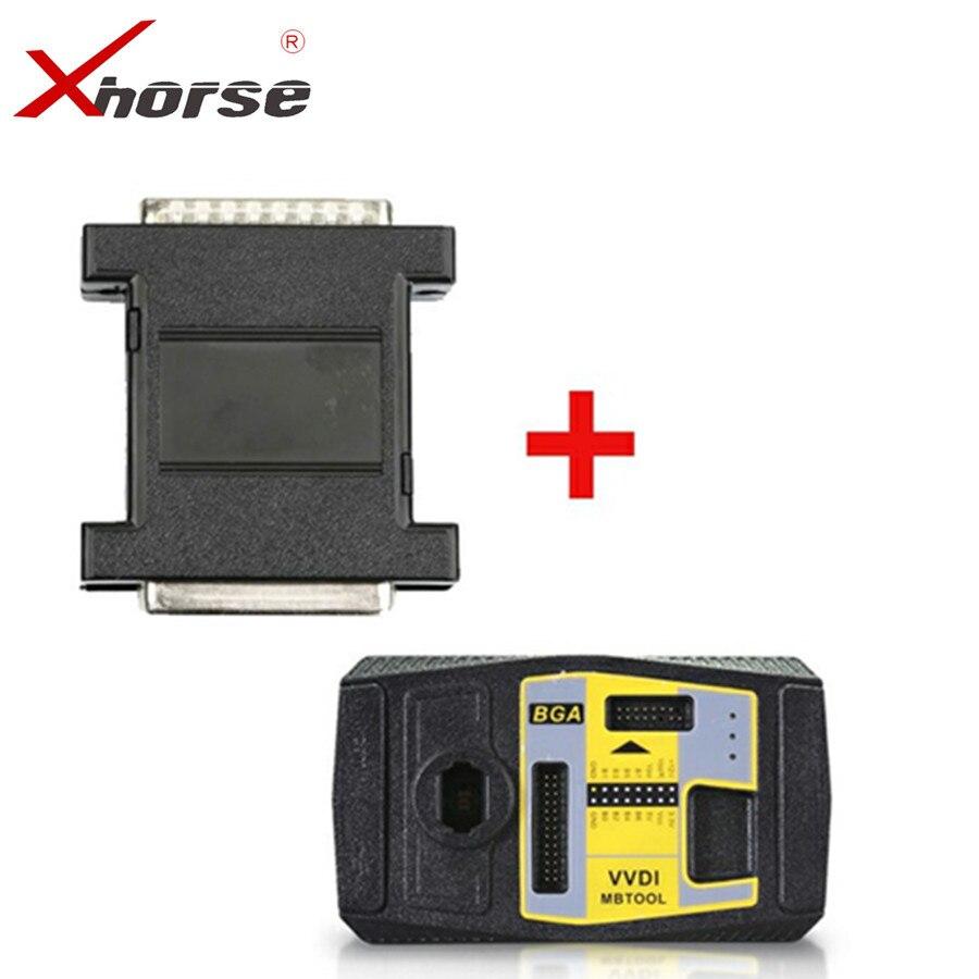 Xhorse V5.0.5 MB BGA Ferramenta Chave Programador Além Disso VVDI VVDI Ferramenta MB Adaptador de Energia para a Aquisição De Dados De Apoio W210 Todos chave Perdida