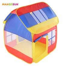 Enfants Pop Up tentes maisons de jeux pliables pour enfants piscine à balles intérieur extérieur sport jeu jouet tente garçons filles cadeau danniversaire