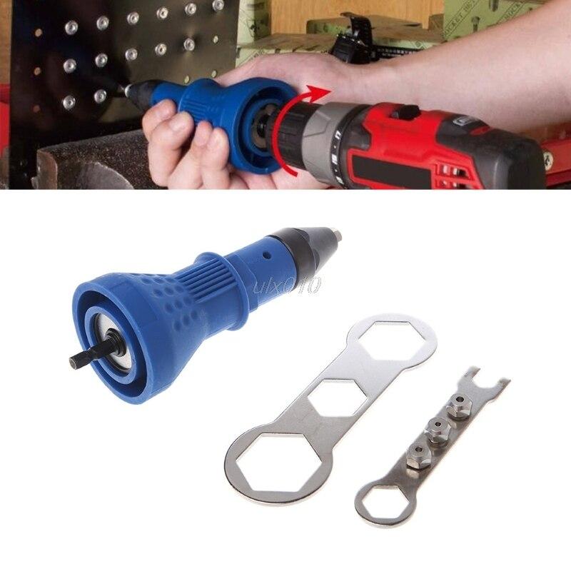 Arma de rebite ferramenta porca rebitagem inserção mão pop broca elétrica sem fio pesado dut g09 whosale & dropship