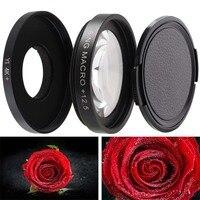 Супер Макро фильтры для объектива камеры XiaoMi Yi 4K/II/Lite/+ Plus 12,5x фильтр для спортивной экшн-камеры Yi 4K + крышка 37 мм