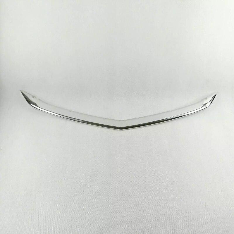 Decoración de coche de acero inoxidable frente debajo de la parrilla cubierta de rejilla embellecedor para Chevrolet Cruze 2017 accesorios de coche
