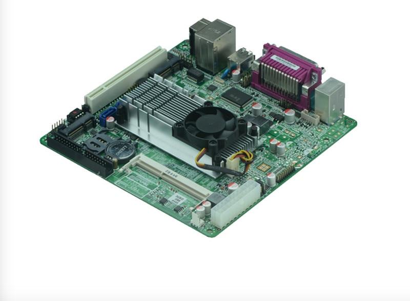 New Atom D525/D425/N455Processor Mini ITX Motherboard With dual Gigabit Ethernet