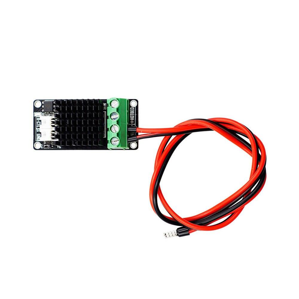 Accesorios de impresora 3D heatbed módulo MiniMOS de alta potencia gran potencia de corriente extendida + línea de alimentación de 15A